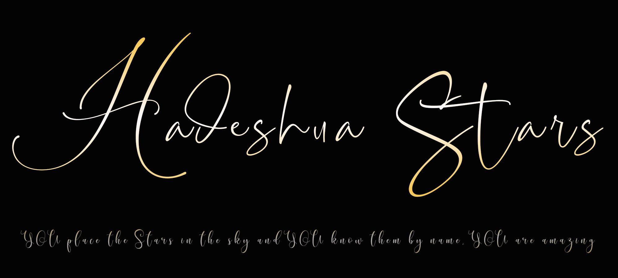 Hadeshua Stars
